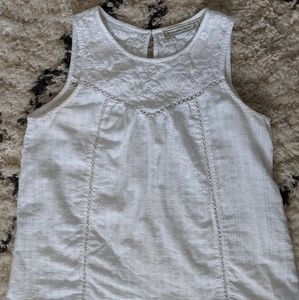White Abercrombie & Fitch Tank